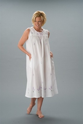 Cotton Nightgown Home